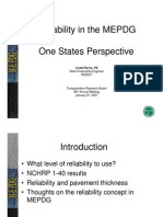 ReliabilityintheMEPDGonestatesperspective(Pierce)(1 2007)