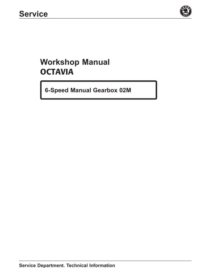 Manual Skoda Octavia - gearbox m6 02M | Transmission (Mechanics) | Manual  Transmission