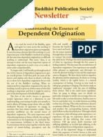 Buddhist Publication Society Newsletter 65