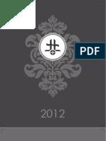 Table Calendar 2012