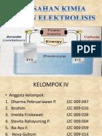Pemisahan elektrolisis