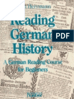 Reading German History - A German Reading Course for Beginners
