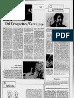 Dzi Croquettes / Cervantes [Correio da Manhã, 26 de Dezembro de 1972]