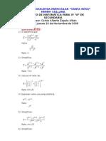 Balotario de Matemática
