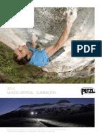 Catálogo Petzl 2012 deportivo
