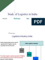 Study of Logistics in India