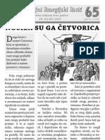 Župni listić - PUJANKE - 65 - Sedma nedjelja kr. god.