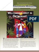 Xaverian Mission Newsletter February 2012