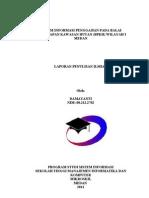 Penulisan Ilmiah Sistem Informasi Gaji