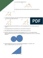 Soal Latihan 2 Bab tri Matematika Kls X