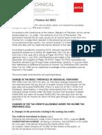 Sa Jan12 Finance Act