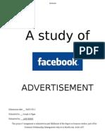 CRM Facebook Advertisement Report (alfa version)