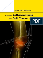 Arthrocentesis and Soft Tissue Injection