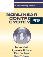 Nonlinear Control Systems - Zoran Vukic