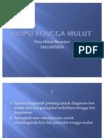 Biopsi Rongga Mulut