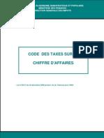 Code Des Taxes Sur Le Chiffre d'Affaires