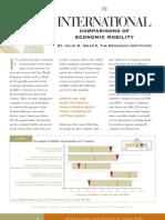 International Comparisons of Economic Mobility