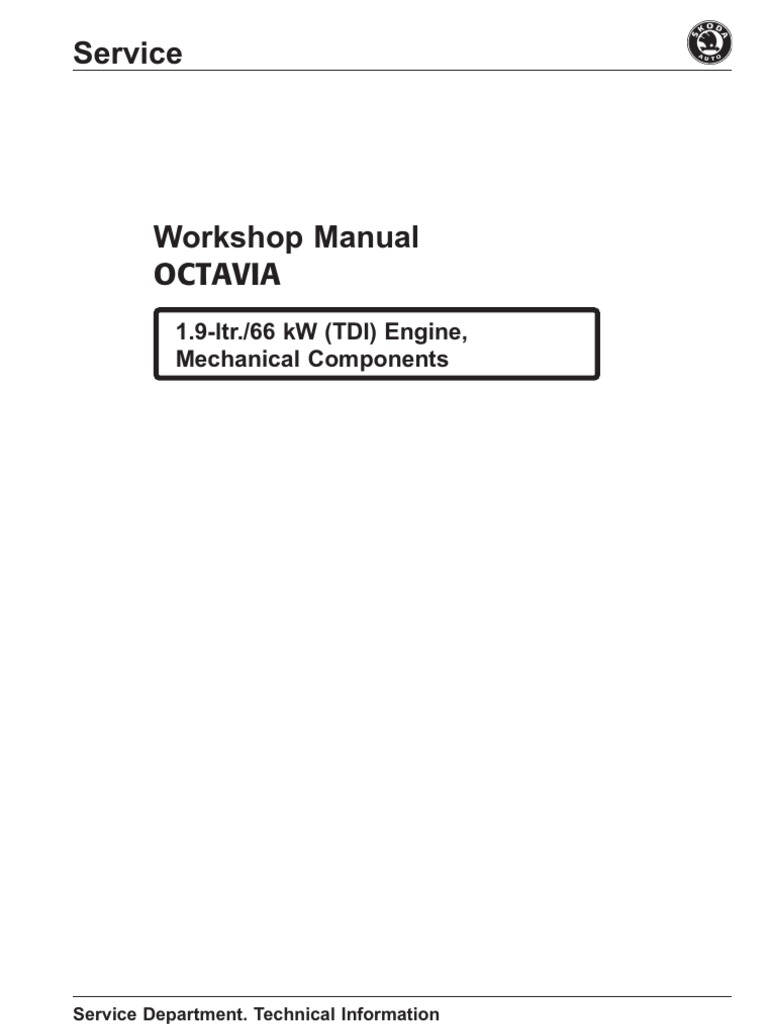 manual skoda octavia 1,9 66kw   belt (mechanical)   transmission (mechanics)