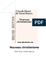 Henri de Saint-Simon - Nouveau Christian is Me