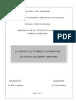 l'Audit de La Securite Du Systeme d'Information Les Enjeux d