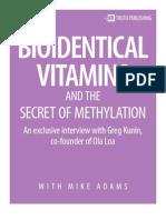 Bio Identical Vitamins