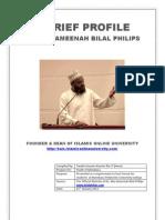 A Brief Profile - Dr. Abu Ameenah