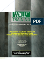 WST University Training MALBO