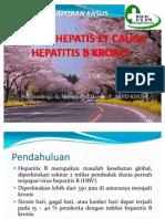 Presentasi Sirosis Hepatis Ec Hepatitis B Kronis