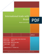 .International Trade With Brazil