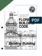 Florida Existing Building Code 2007