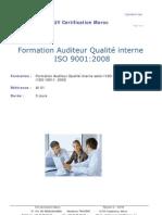 TUV Audit Interne Qualite ISO 9001_2008