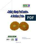 Calidad y Manejo Poscosecha de Hortalizas y Frutas