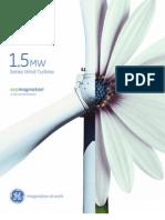 Wind Turbine Ge 15 Brochure