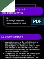 Le Passé Composé With Avoir