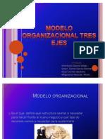 Modelo Organizacional Tres Ejes