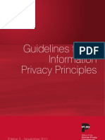 Guidelines to the Information Privacy Principles
