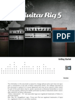 Guitar Rig 5 Getting Started English