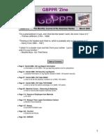 GBPPR 'Zine - Issue #12
