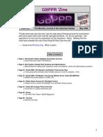 GBPPR 'Zine - Issue #26