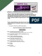 GBPPR 'Zine - Issue #34