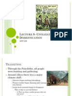 Lecture 7- Civilization and Domestication