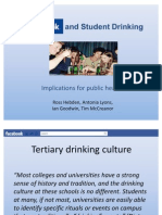 Facebook and Alcohol Marketing Presentation
