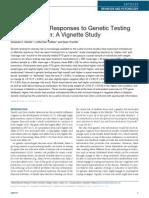 Meisel Obesity 2011 Genetic Testing
