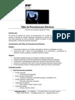 Taller Presentaciones Efectivas para Gerentes - ficha descriptiva