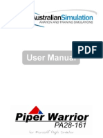 Piper Warrior II User Manual