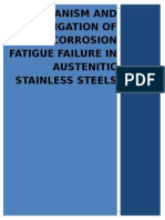 Austenitic Stainless Steels