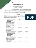 Acuerdo Gubernativo 219-2000