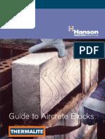 Aircrete Blocks Product Guide