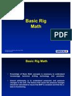 Rig Math