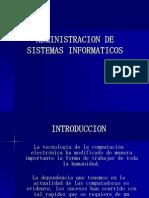 Administracion de Sistemas Informaticos